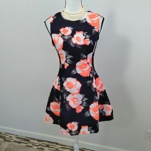AX Paris floral mini dress size 8